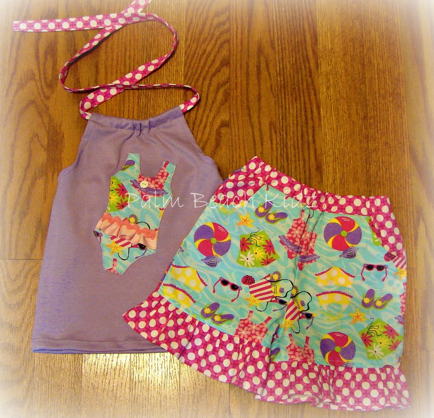Beach Baby Short Set