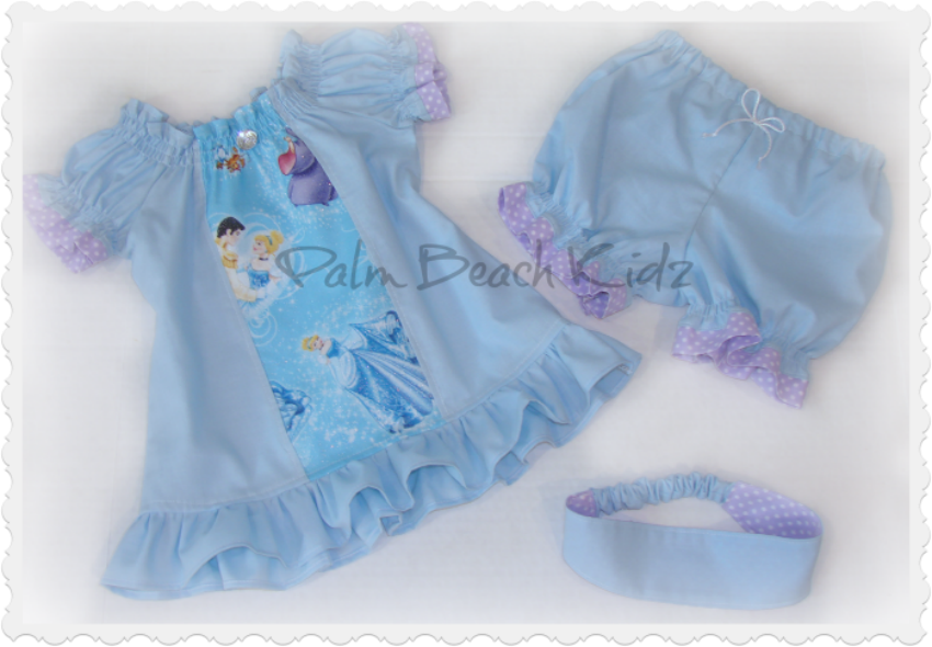 Cinderella Bloomer Set