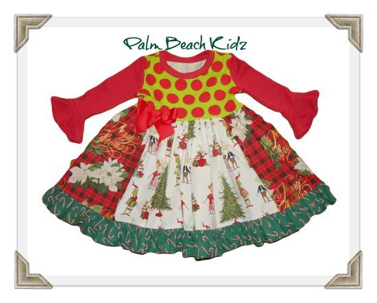 Grinch Christmas Dress