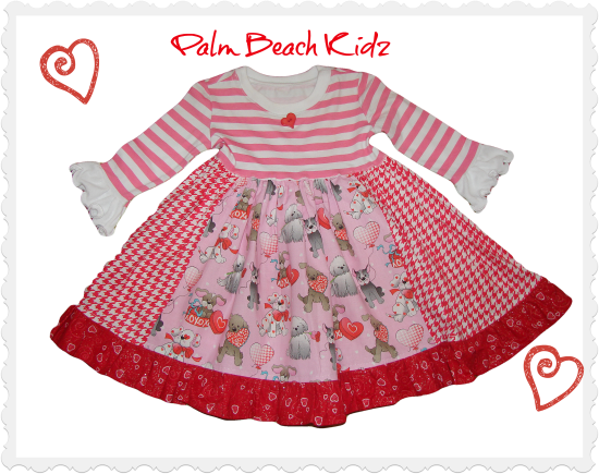 Valentine Puppy Love Dress