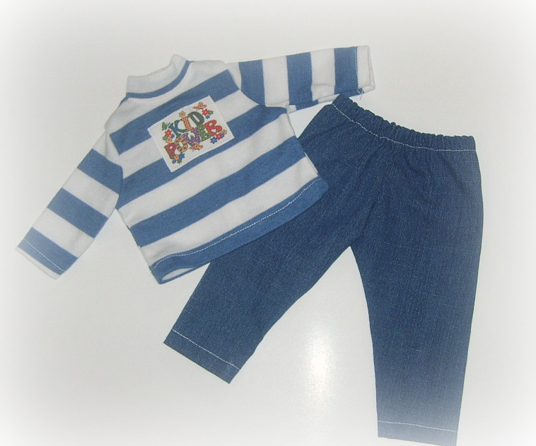 Doll Kids Power Jean Set