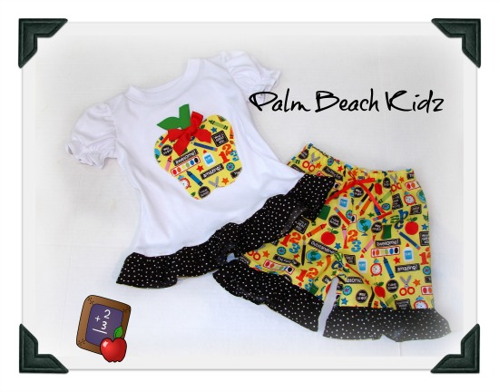 Apple for School Short Set