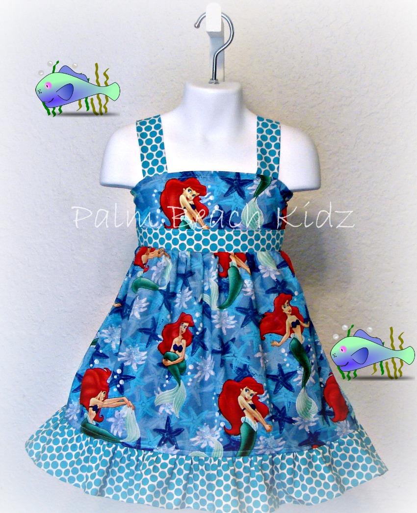 Ariel Mermaid Dress
