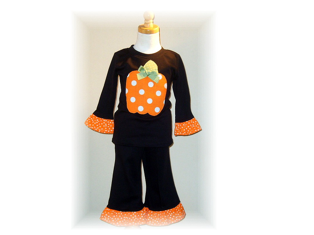Pumpkin Fun Pant Set