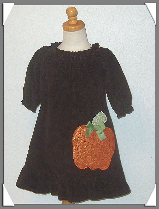 My Little Pumpkin Dress