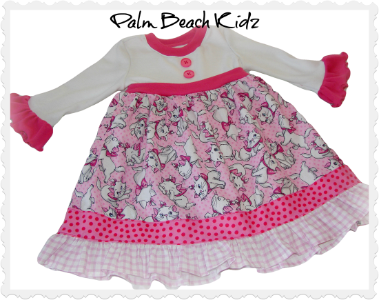 Pretty N Pink Cat Dress