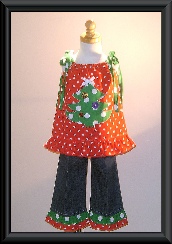 Christmas Tree Pant Set
