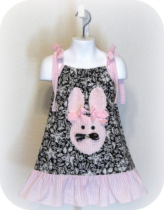 Sweet Easter Bunny Dress