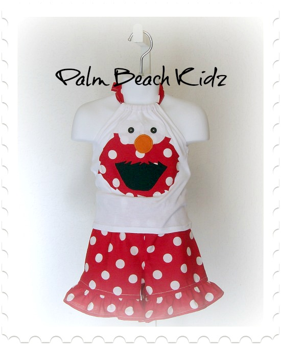 Elmo Fun Short Set