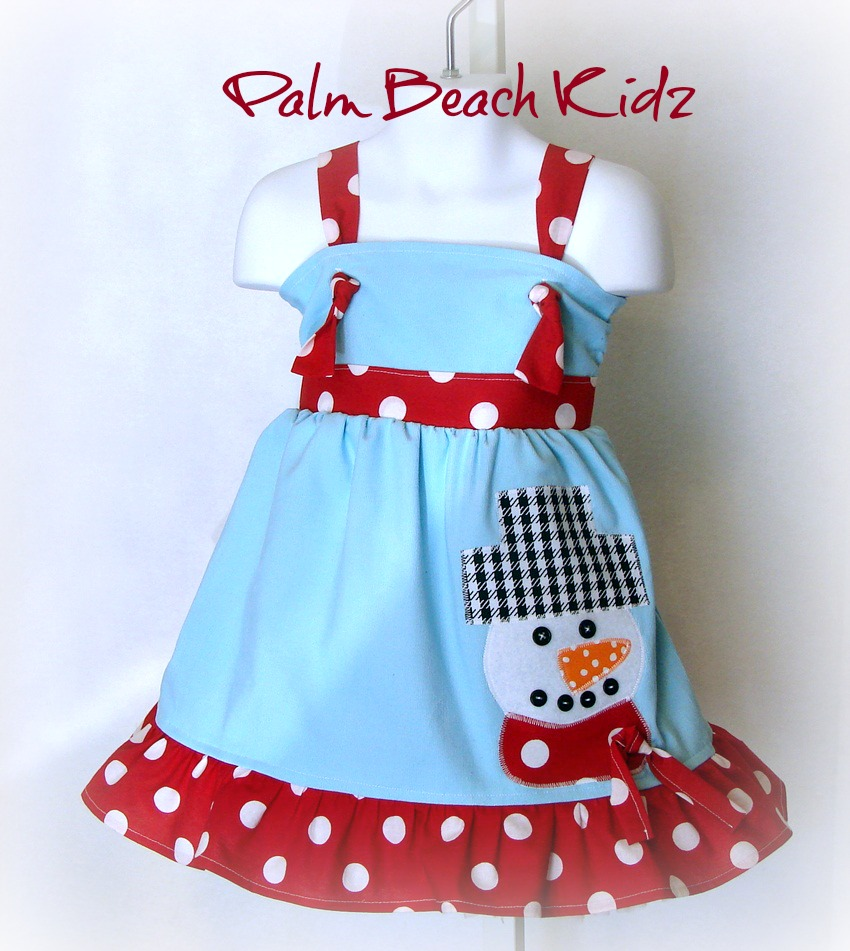 Frosty The Snowman Dress