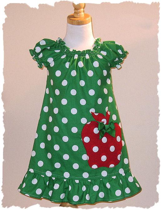 Green Apple Dress