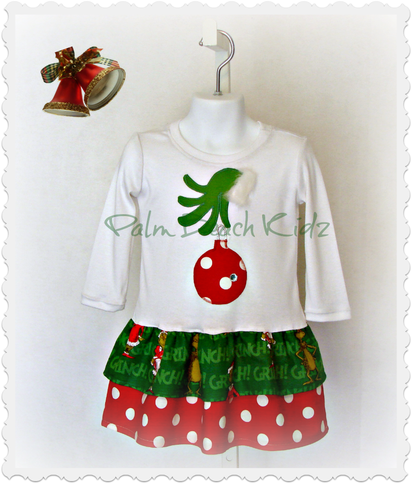 The Grinch Dress