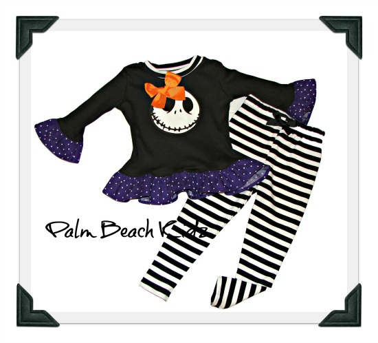 Jack Skellington Legging Pant Set