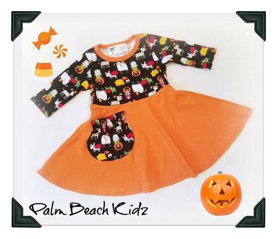 Halloween Treats Twirl Dress