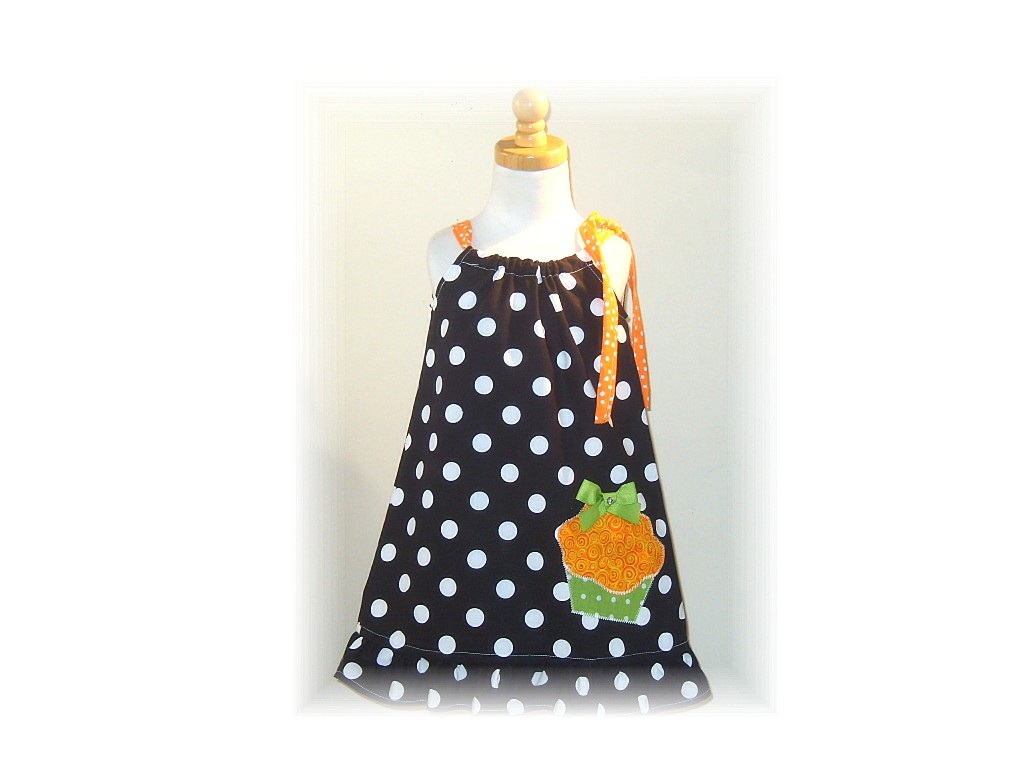 Halloween Cupcake Tunic Dress