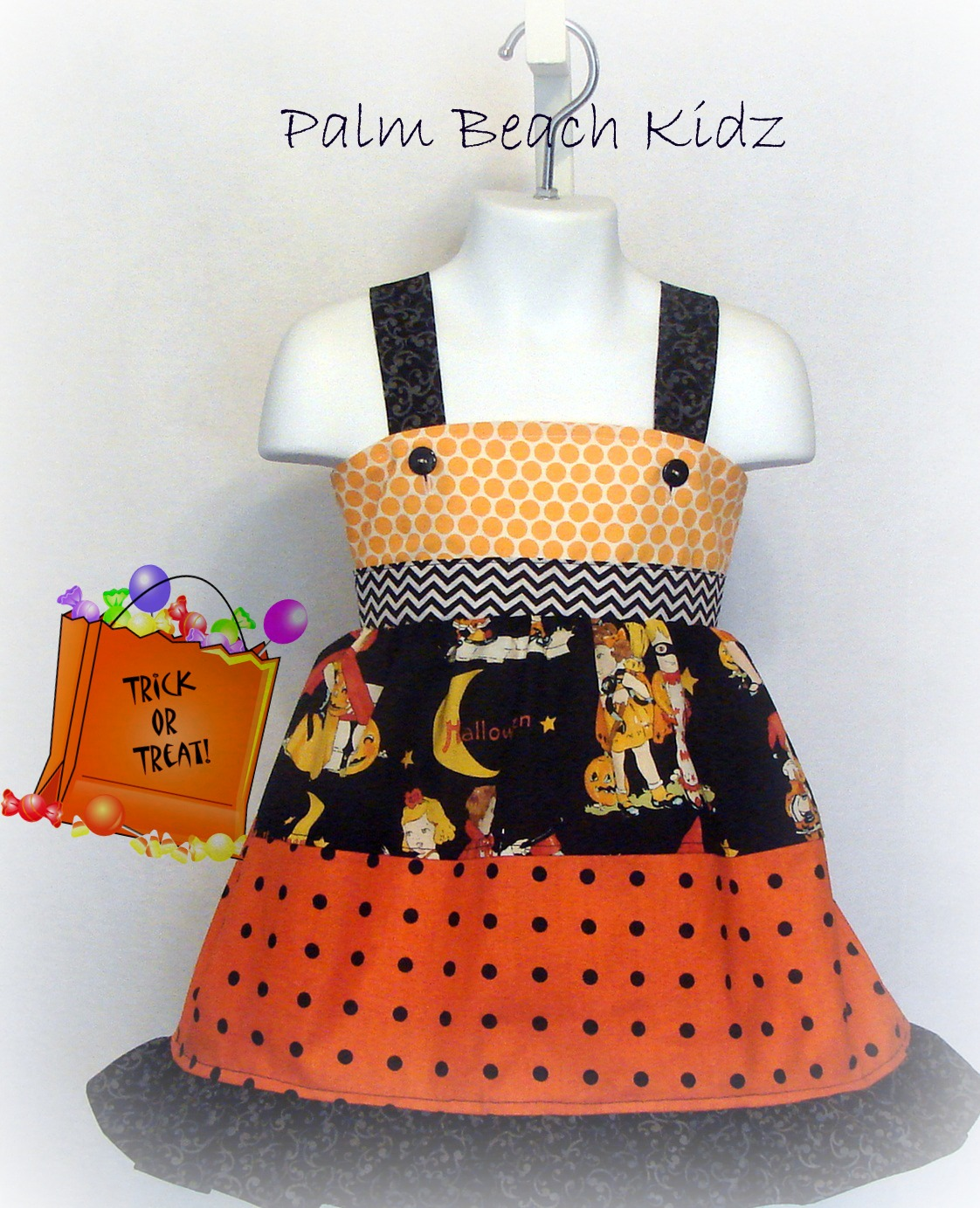 Trick or Treat Halloween Dress
