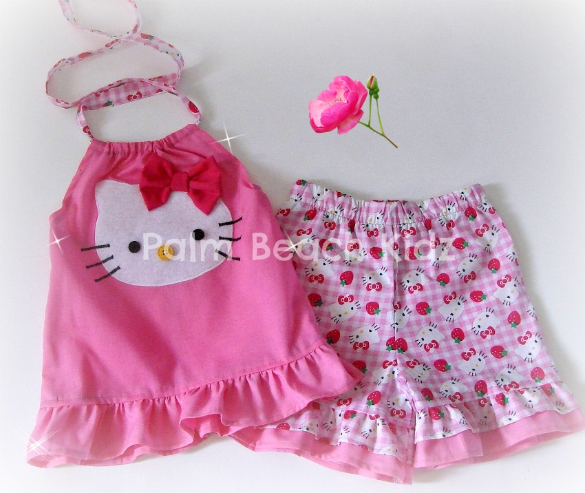 Sweet Hello  Kitty Short Set