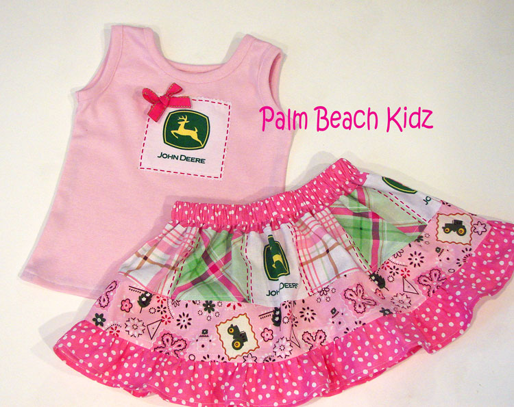 John Deere Skirt Set