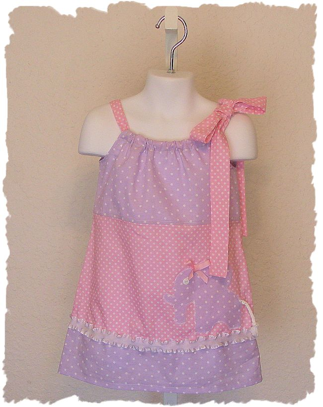 Lavender Elephant Dress