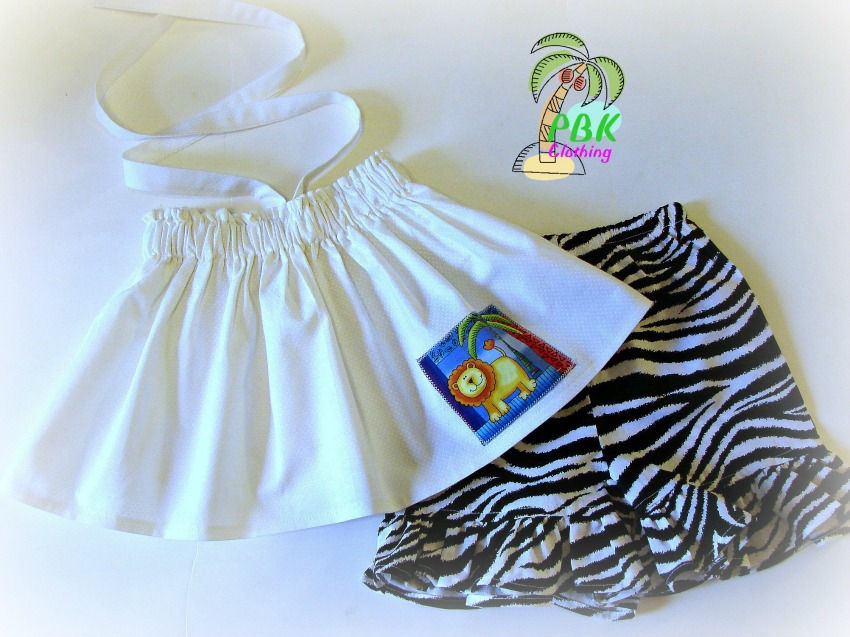 Lion N Zebra Fun Short Set
