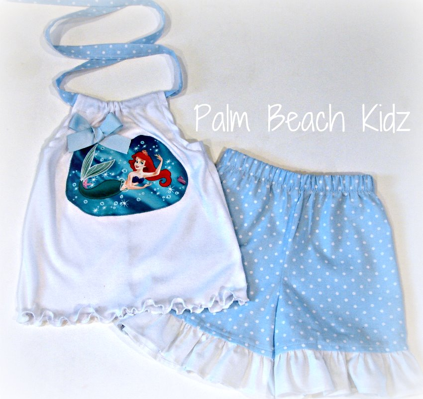 Mermaid Short Set