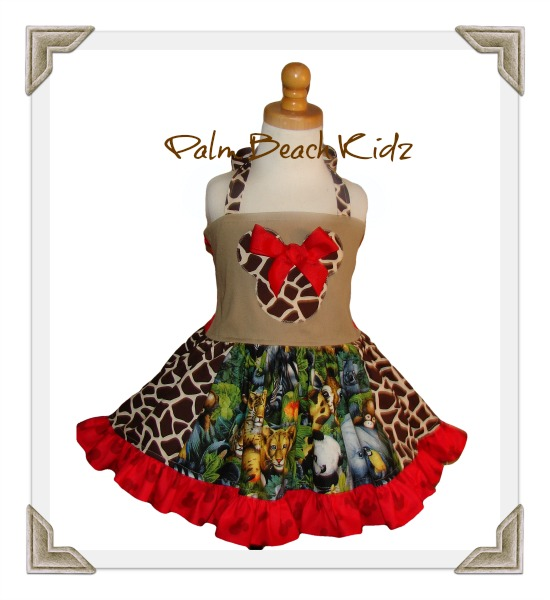 Minnie Animal Kingdom Dress