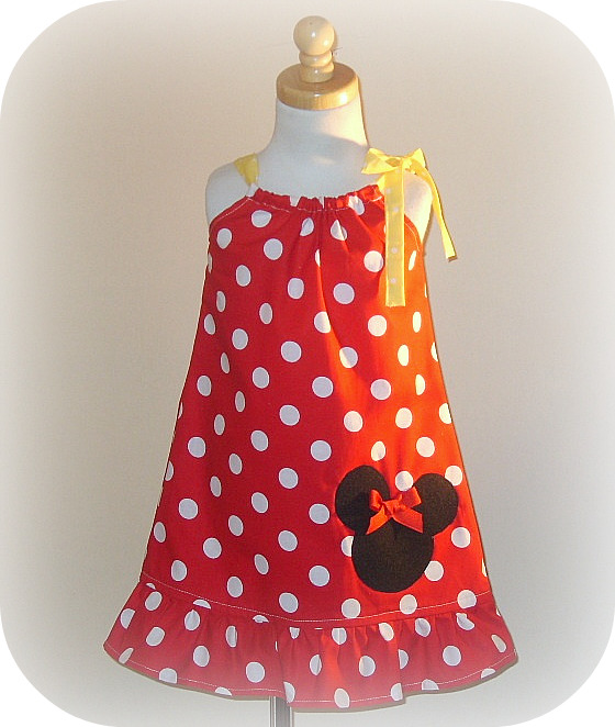 Minnie Pillowcase Red Dot Dress