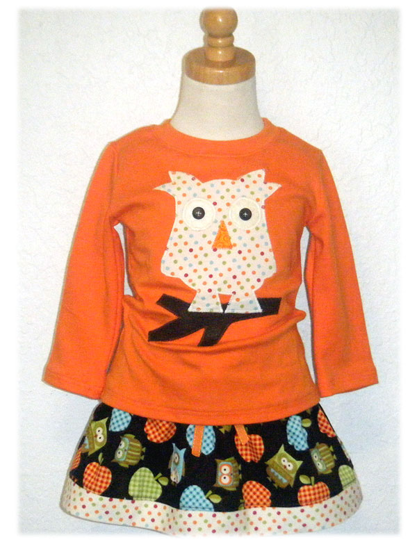 My Owl Skirt Set