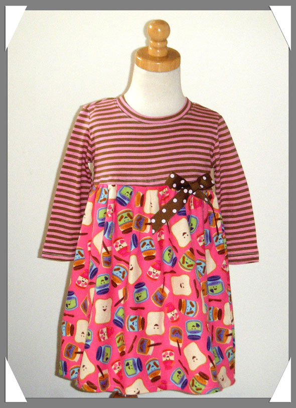 Peanut Butter N Jelly Dress