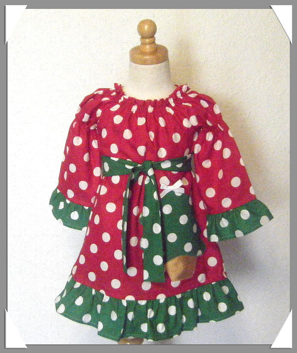 Sweet Christmas Tree Dress
