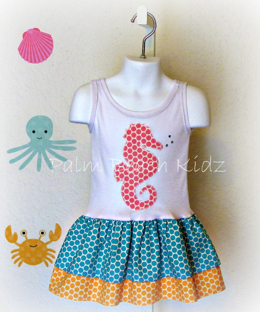 Bubbles The Seahorse Dress