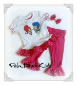 Shimmer and Shine Girls Boutique Capri Set