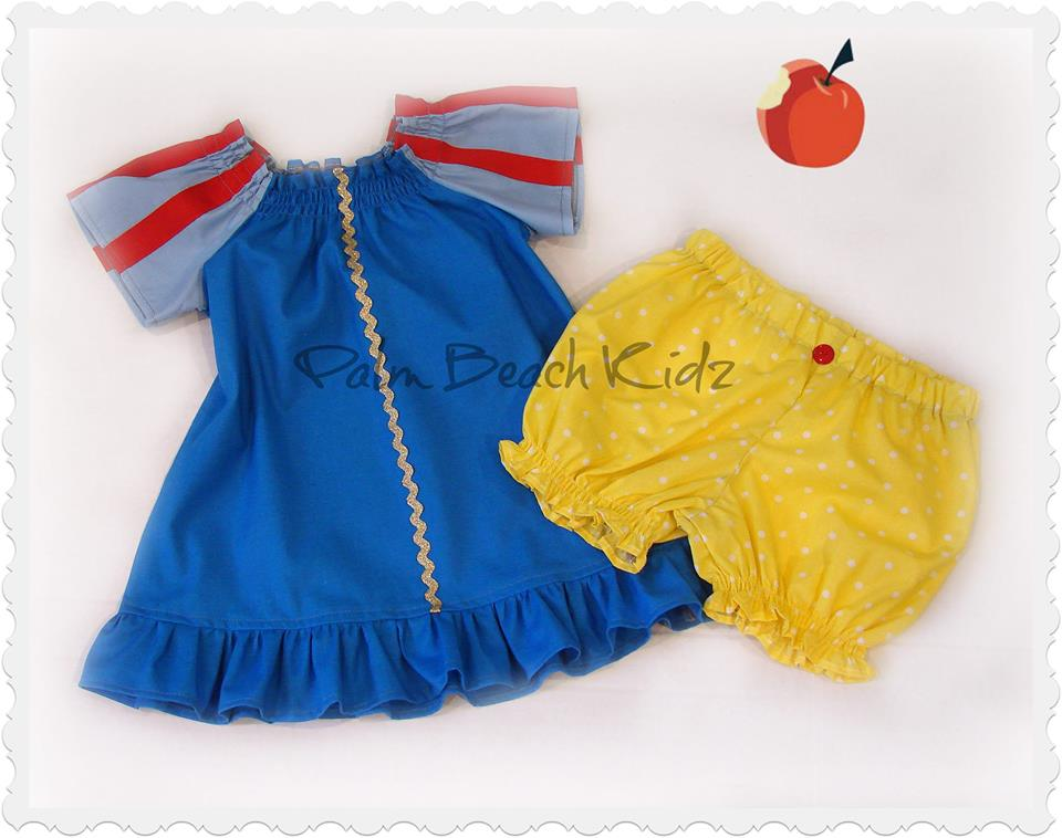 Snow White Bloomer Set