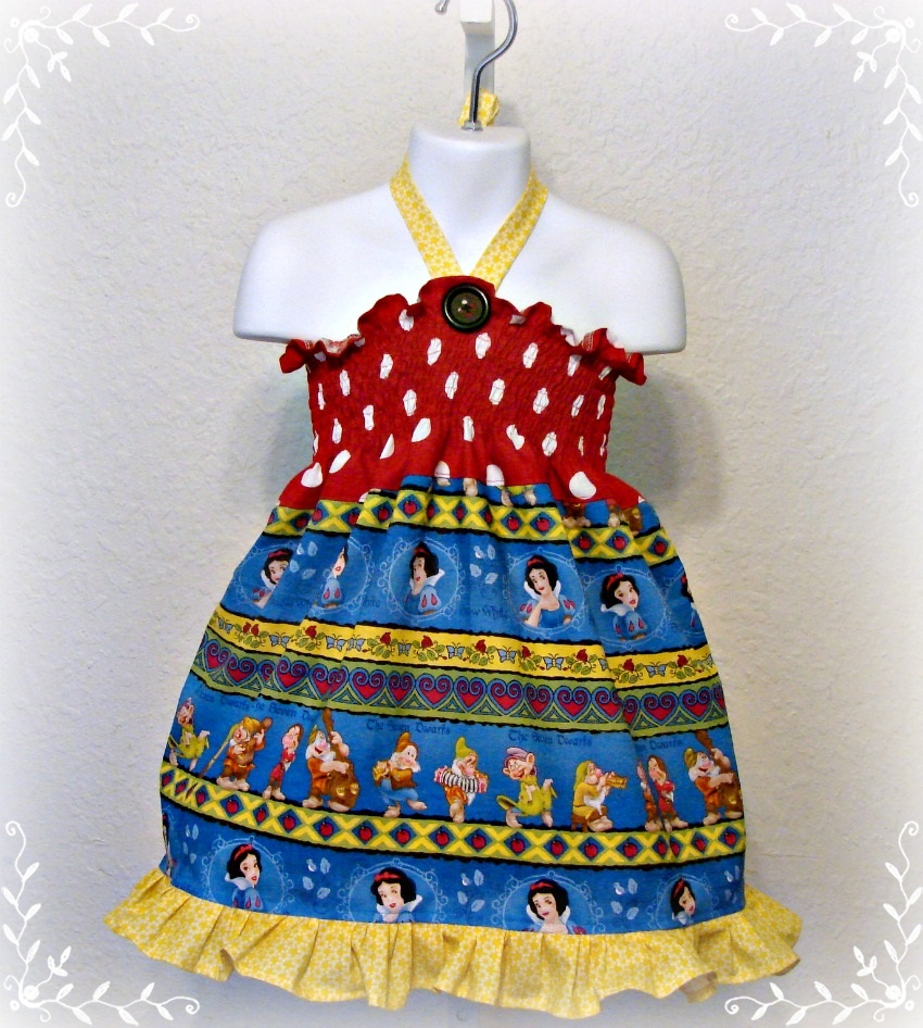 Snow White Halter Dress