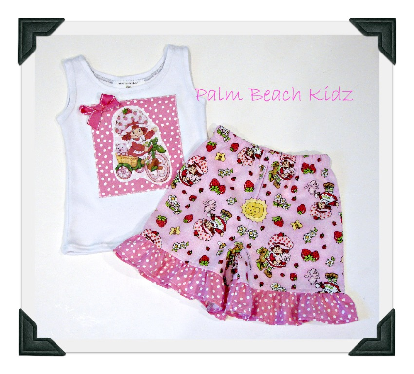 Strawberry Shortcake Short Set