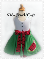 Watermelon Patch Twirl Dress