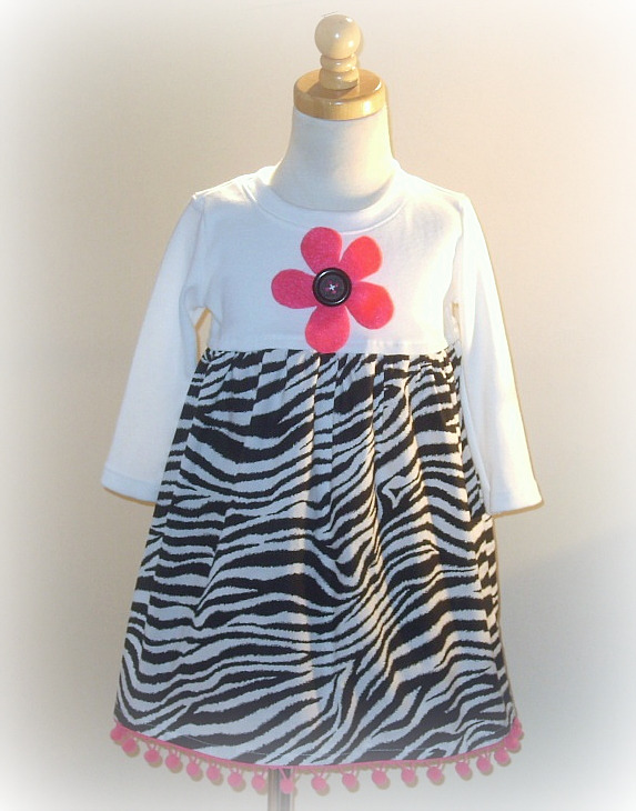 Zebra N Pink Gone Wild Dress