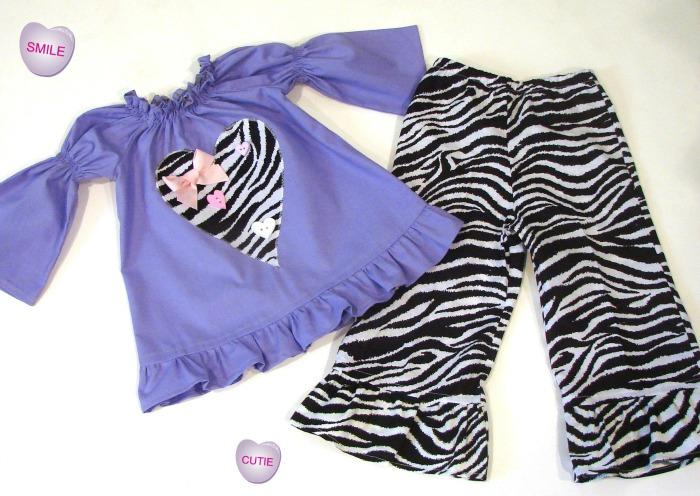 Zebra N Lavender Valentine